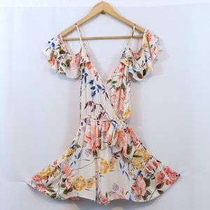Band Of Gypsies Chance Of Destiny Floral Romper